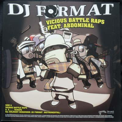Vicious Battle Raps - DJ Format Featuring Abdominal